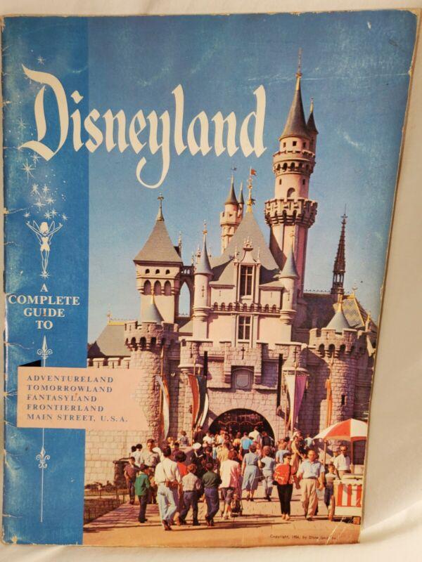 1956 Disneyland Guide, Original Book, Good Shape, Rare! 28 Pages, Wonderful!