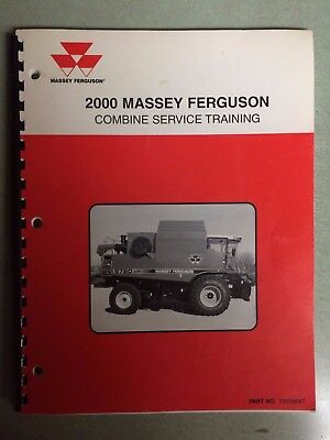 2000 Massey Ferguson Combine Service Training