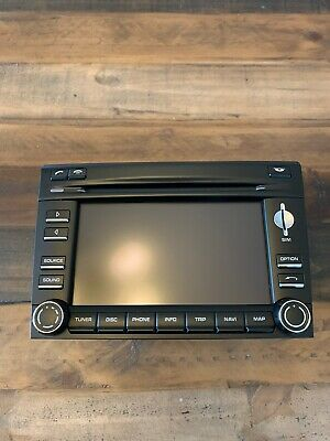 Porsche 911 Carrera 997 987 Cayman PCM 3 Navigation Radio Head Unit Screen OEM