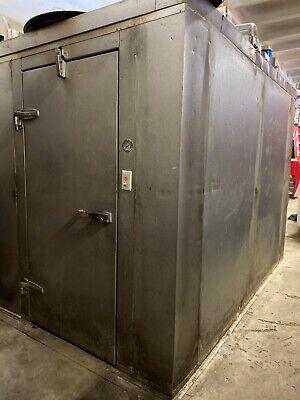 Walk-in Freezer And Walk In Cooler Excellent Condition 6x6 Freezer10x10 Cooler