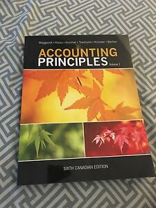 Accounting principles textbook