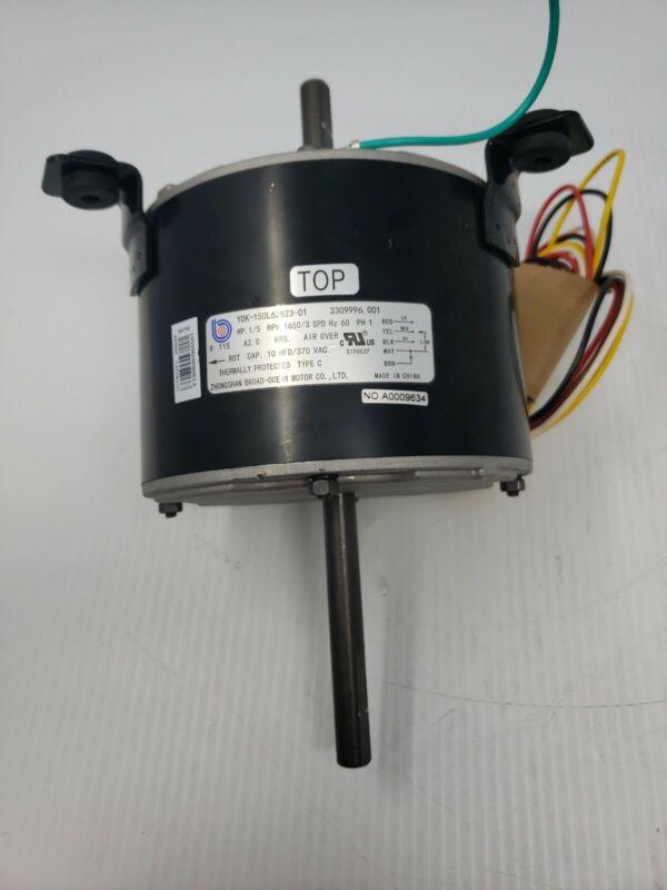 Zhongshan 3309996.001 YDK-150L62823-01 1/5 HP Fan Motor 115V 60Hz 1 Ph 1650 RPM