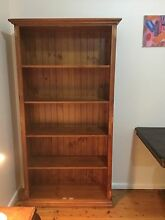 Solid pine tall bookshelf Old Toongabbie Parramatta Area Preview