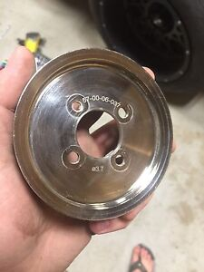 Supercharger Pulley's