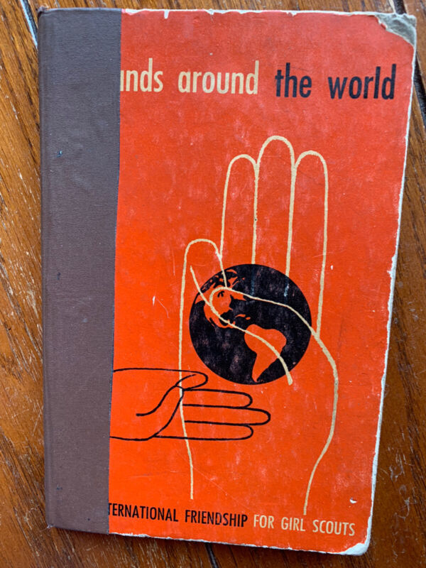Hands Around The World - Girl Scouts - 1949 - Xlib