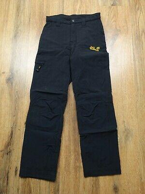 Kid's Jack Wolfskin Trousers Hiking Outdoor Trekking Size 146 10-11 Years (DT05)