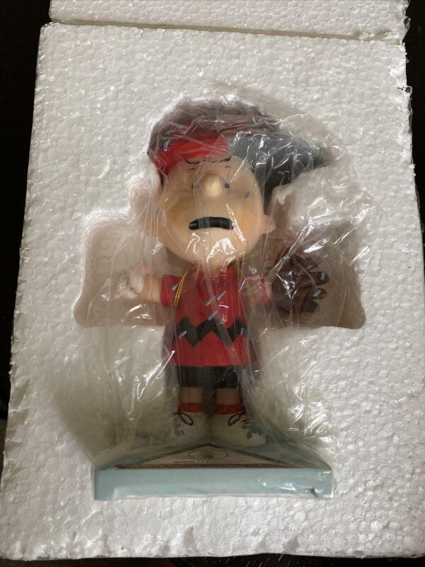 Vintage Charlie Brown Around Town Peanuts Figurine Baseball Free Shipping