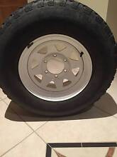 3 x ROH Steel Rim (15 x 7) 139.7 x 6 Stud with 20+ PCD w/tyres Cashmere Pine Rivers Area Preview