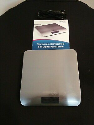 Stamps.com 5 Lb Digital Postage Scale Sdc 550 W Usb Cable