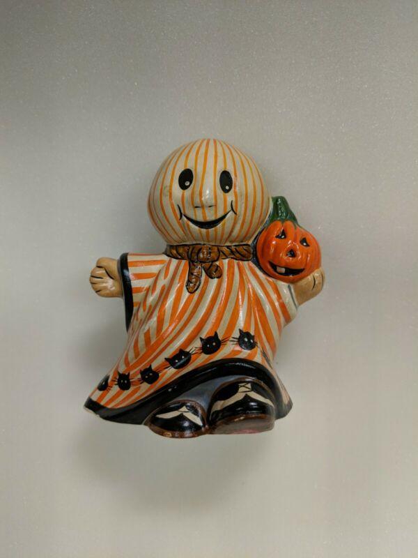 Vaillancourt Folk Art Halloween Ghost