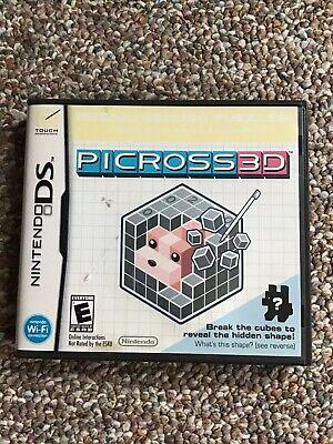 Picross 3D (Nintendo DS, 2010)