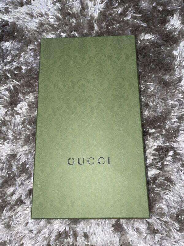 Authentic 2021 GUCCI Green gift box (Empty)