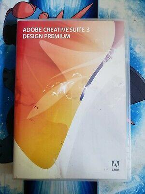 Adobe Creative Suite 3 Design Premium For Mac Includes Serial Number Key
