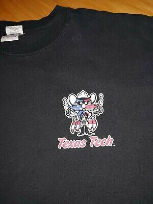 Texas Tech Vintage Sweatshirt Yosemite Sam Red Raiders NCAA Football Size - Texas Tech Sweatshirt