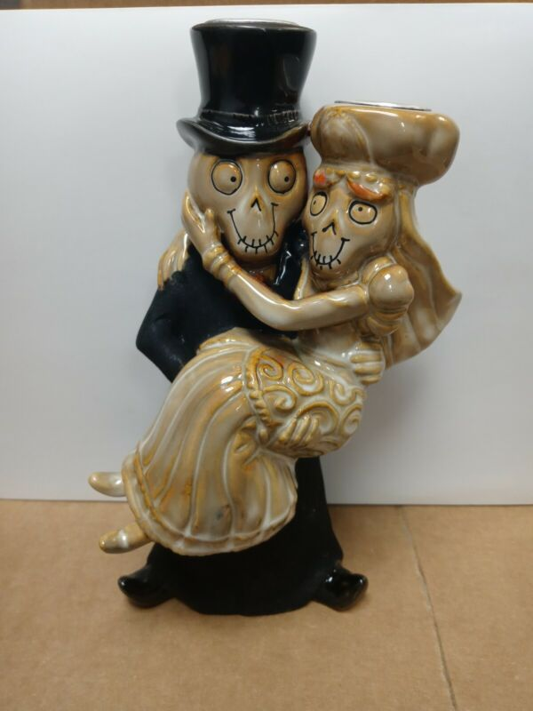 Yankee Candle Boney Bunch Bride And Groom Taper Holder 2011