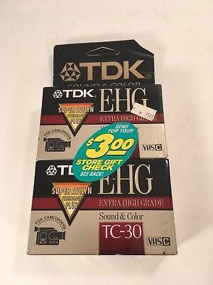 Кассеты и диски TDK E-HG TC-30