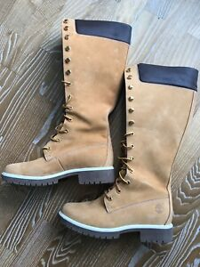 Timberland wheat premium  Knee High Boots