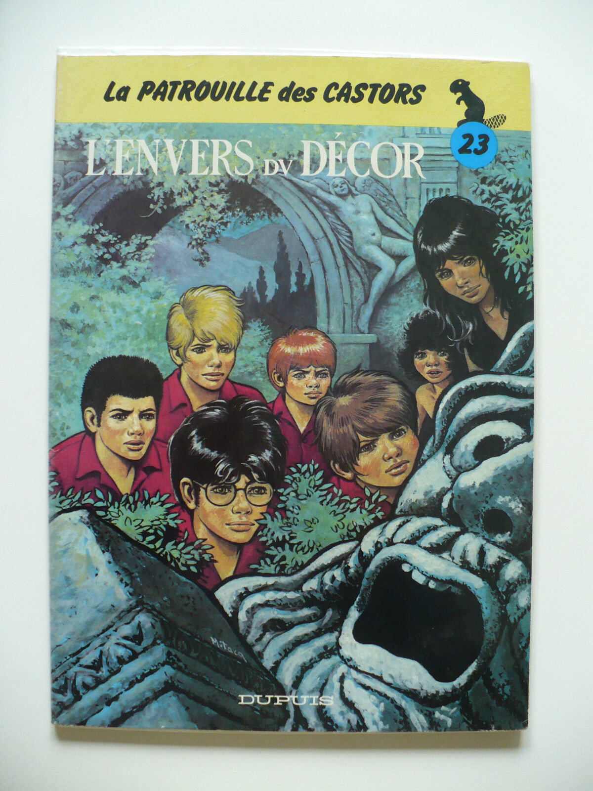 EO (très bel état) - La patrouille des Castors 23 (l'envers du décor) - 1983