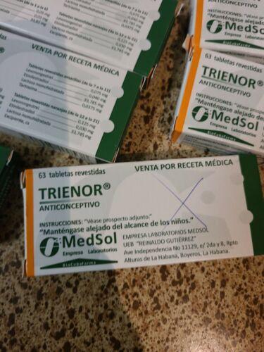 pastillas anticonceptivas trienor