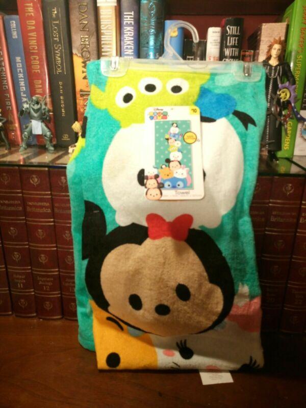 "Disney Tsum Tsum Stacks On Stacks Towel 25 x 50"""