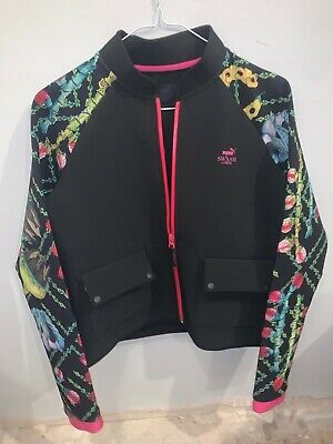 Puma swash jacket womens size S scuba fabric