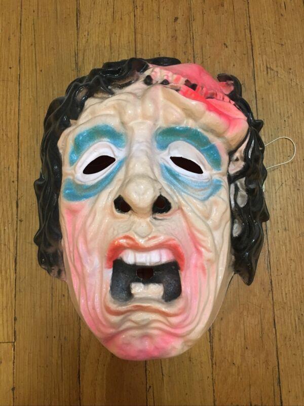 Vintage Halloween Monster Mask Ben Cooper Collegeville Topstone Melting Man