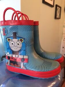 Boys Thomas rubber boots size 10
