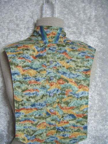 Hunt English Dickie Ratcatcher Reversible Multi Colors with V Neck