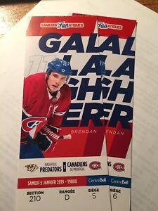 DESJARDINS JAN 5 - Montreal Canadiens vs Nashville Predators