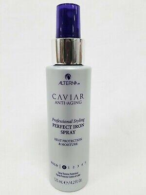 Alterna Caviar Anti-Aging Perfect Iron Spray Pro Styling 4.2 oz Hold Level -