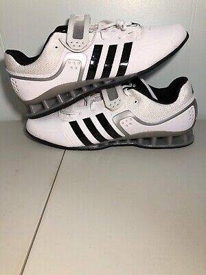 15d547bfc55c Adidas AdiPower SZ 15 Weightlifting Powerlift Trainer Shoes White M25733  Mens