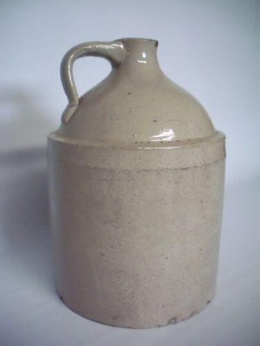 Primitive Stoneware Whiskey Jug Pottery Vintage Antique Kentucky
