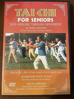Tai Chi for Seniors - 10 Easy Movements in the 5-minute style