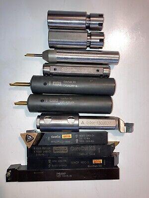 Sandvik Teagu Mitsubishi Lathe Tool Holders. Lot Of 12 Pieces.