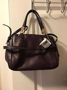 Coach Leather Mini Madison Bag