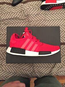 Adidas NMD R1 Red/Black size 12