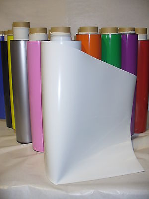 A4 size to 15m Rolls of Flexible Magnetic Sheeting Many Sizes Colours & Grades
