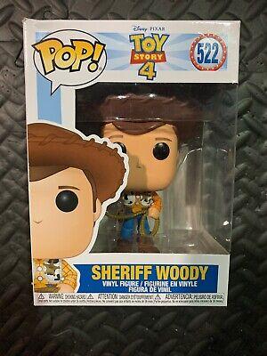 Funko Pop SHERIFF WOODY #522 Disney Toy Story 4