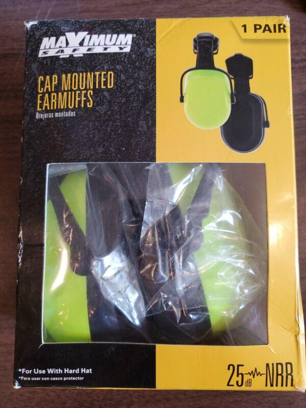 Cap Mount Ear Muffs From Maximum Safety