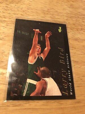 1992 Classic World Class Athletes #2 Larry Bird Basketball Card