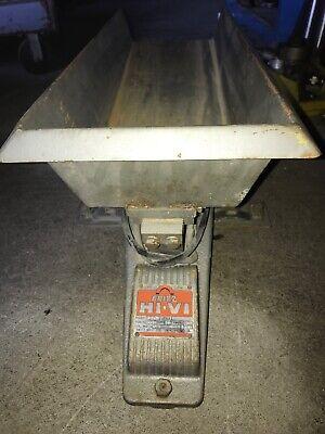 Eriez Hi-vi Vibrator Fe-2 Vibration Unit With Trough