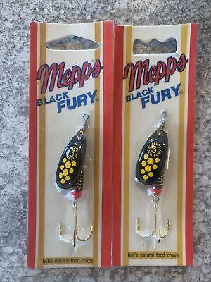 Vintage Mepps Bass Killer Spinnerbait Black/&Yellow