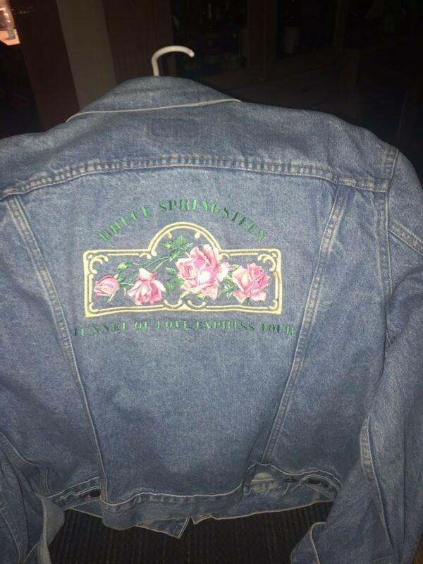Bruce Springsteen Tunnel Of Love Tour Jean Jacket New 1988