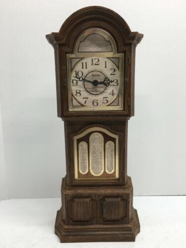 "Vintage Sunbeam Clock Grandfather 19"" Tall"