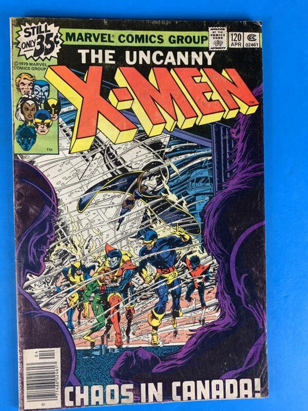 The Uncanny X-Men #120 (1st cameo of Alpha Flight) 1979 🔑🔥
