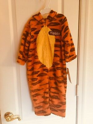 New Disney Winnie the Pooh Tigger Toddler Costume Dress Up Size 18 Months - Winnie The Pooh Soft Kostüm