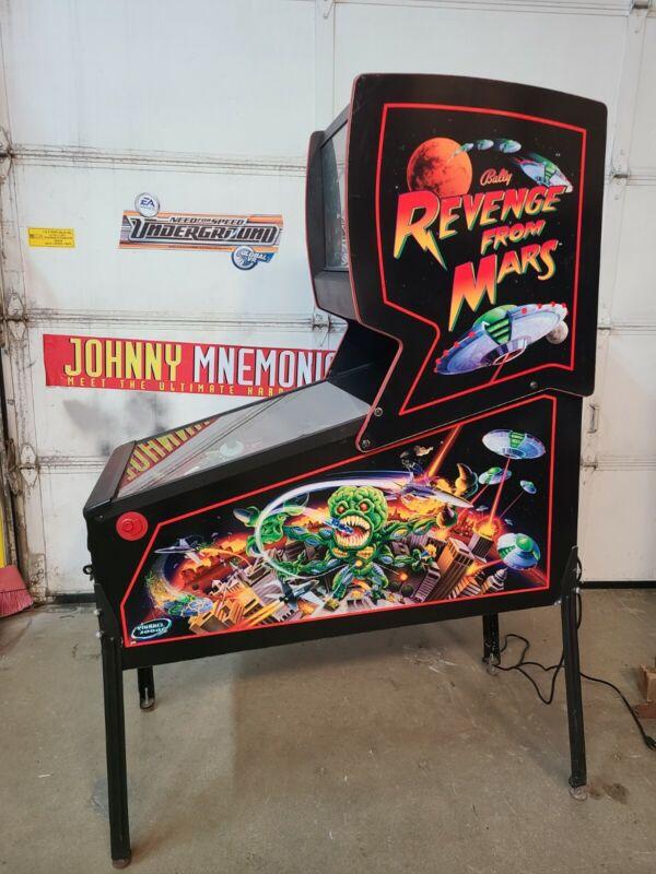 Williams prototype  Revenge from Mars pinball machine