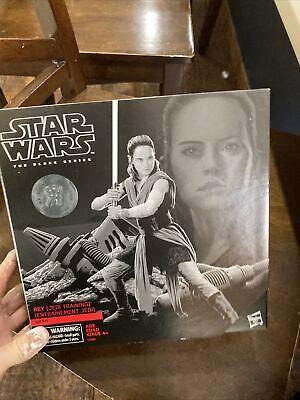 "Hasbro Star Wars Black Series 6"" (6-inch) Toys'R'Us Exclusive REY JEDI TRAINING"