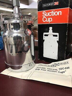 Tlc-555 Tcg-545 Tcg-535 Drip Free Suction Cup Devilbiss