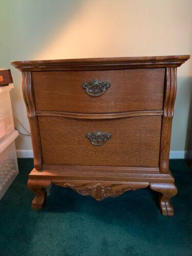 Lexington Victorian Sampler Solid Oak Nightstands